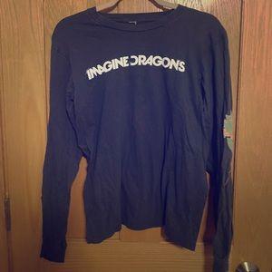 authentic imagine dragons merch long sleeve 💫